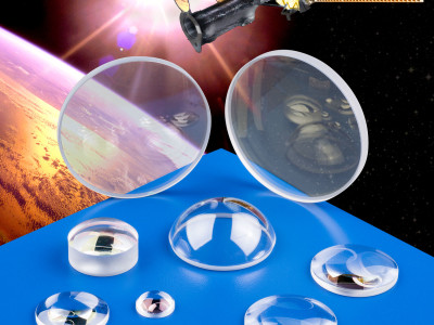CUSTOM SAPPHIRE OPTICS FABRICATED FOR AEROSPACE APPLICATIONS