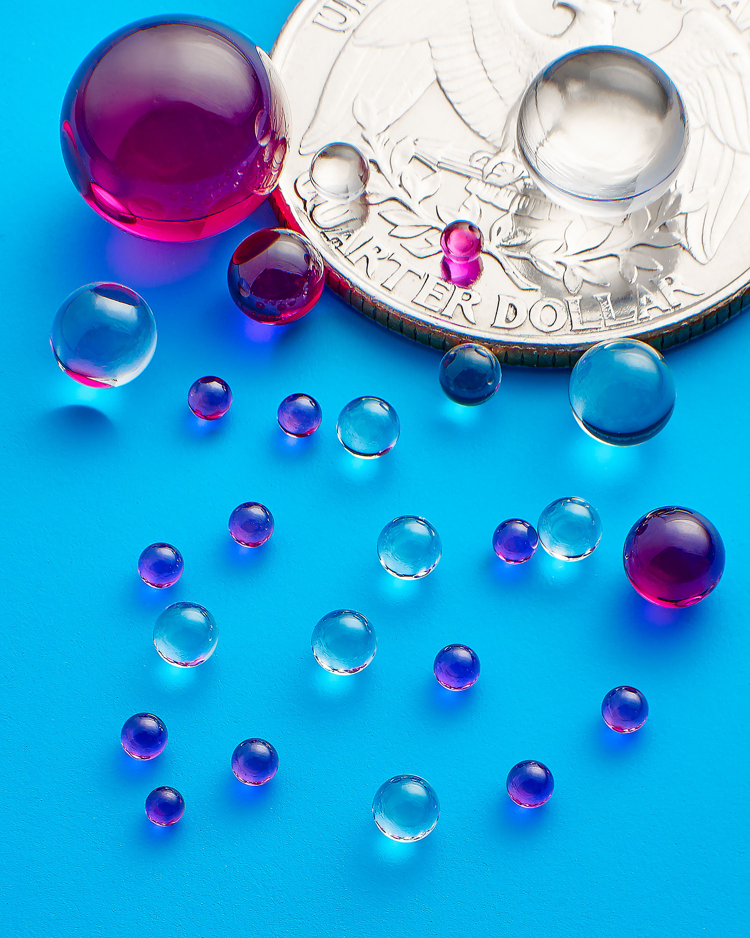 Sapphire and Ruby Balls