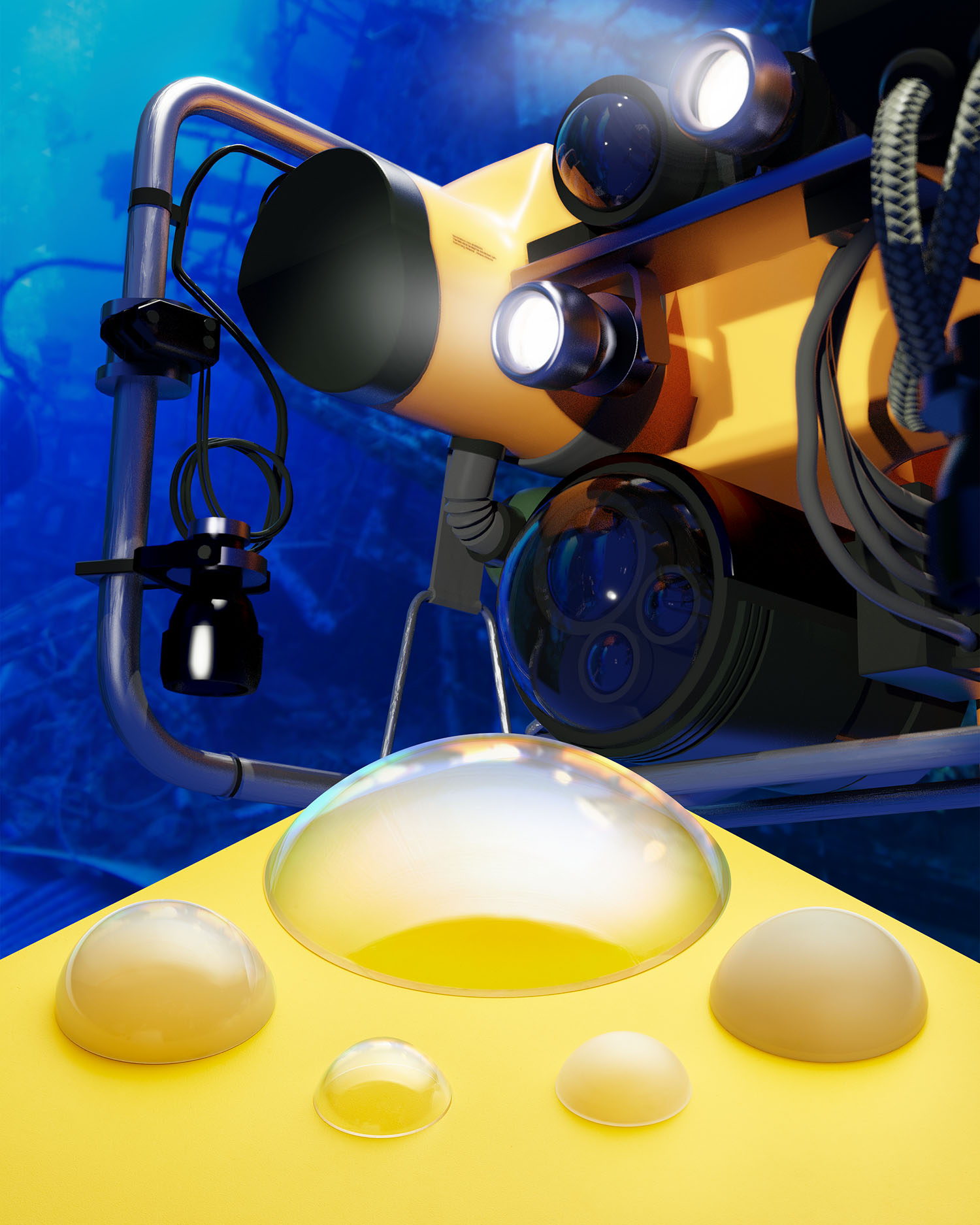 Sapphire Domes for Submersibles