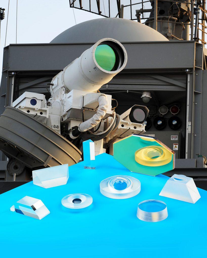 Meller Sapphire Lenses for Military Applications