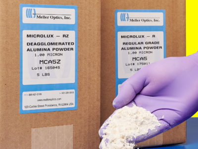 Microlux Alumina Powder from Meller Optics, Inc.