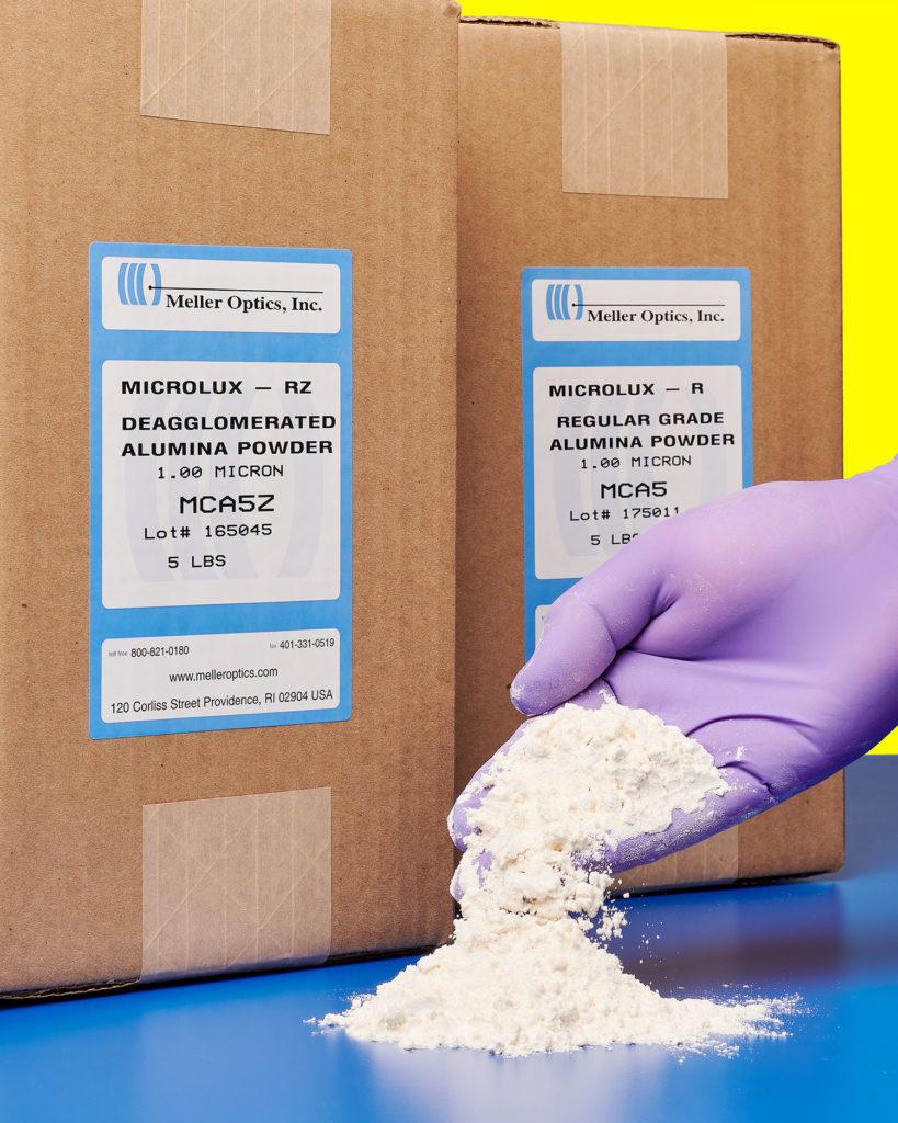 Microlux Alumina Powder from Meller Optics, Inc.