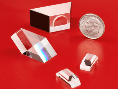 Sapphire Prisms for Harsh Environments