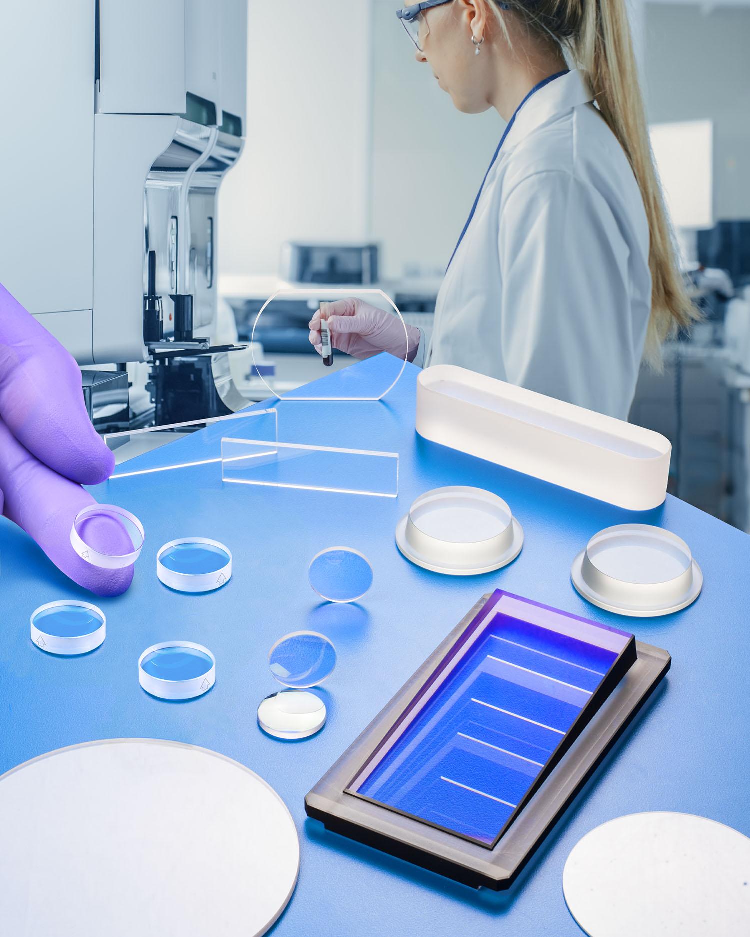 sapphire optics for medical applications