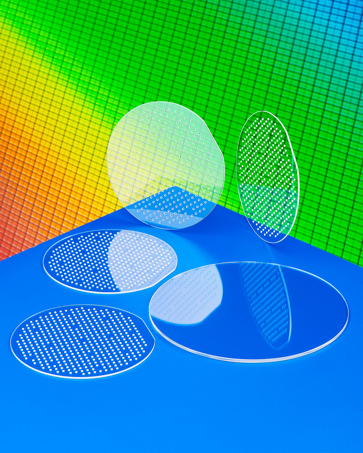 Custom fabricated semiconductor wafer carriers