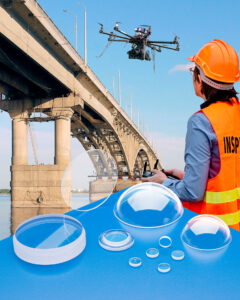 sapphire optics for drone vision systems